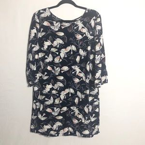 Old Navy bird print dress